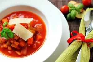 Talianská polievka Minestrone